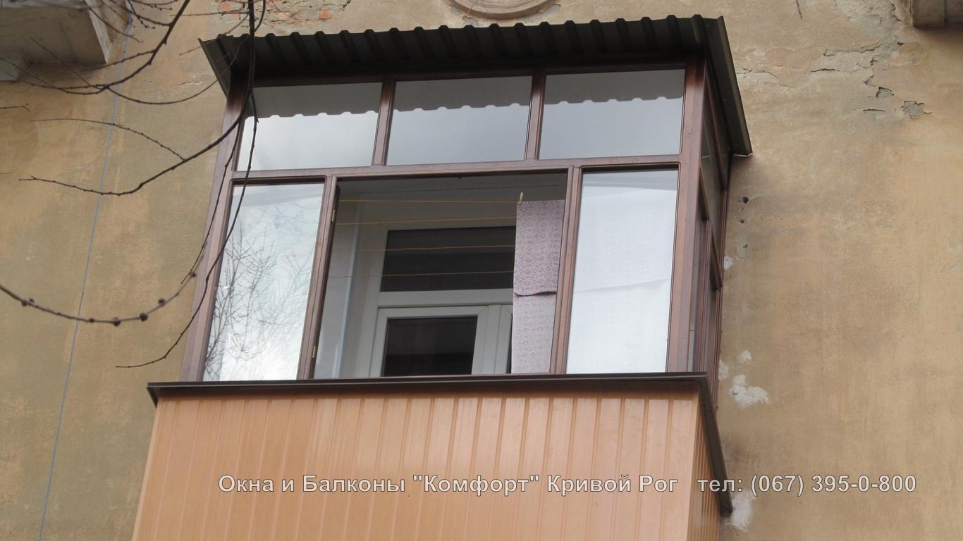 Фото балконов: крыши.